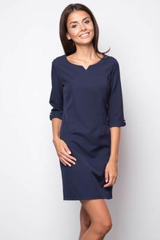 ХИТ продаж: строгое платье с карманами Marimay