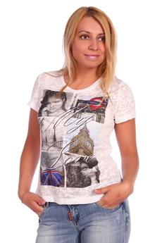 Белая футболка Лондон ElenaTex