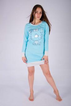 Теплая сорочка с рукавами Malina