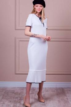 Платье-миди трикотажной вязки Kvinto