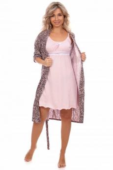 Комплект: халат и сорочка Кетлен
